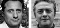 Joseph Sangiorgio et Stéphane Veyer