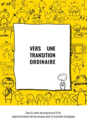 Cit'in · Vers une transition ordinaire - Couverture