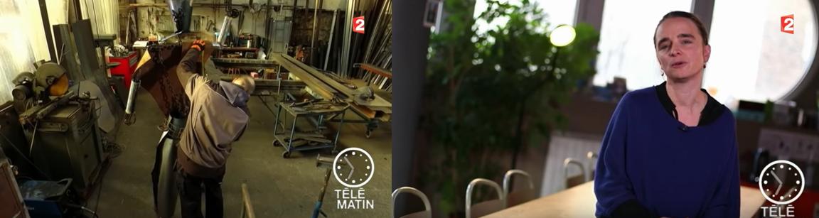4/1/2017-Reportage dans Télématin - France 2
