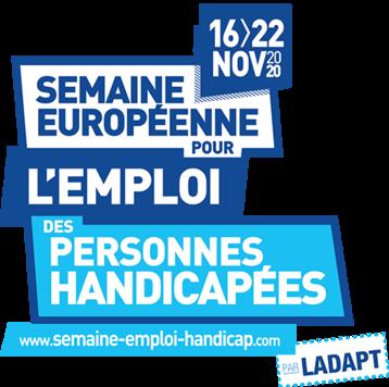 Semaine européenne pour l'emploi des personnes handicapées 2020 - logo